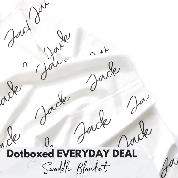 Dotboxed EVERYDAY DEAL - Swaddle Blanket - Dotboxed