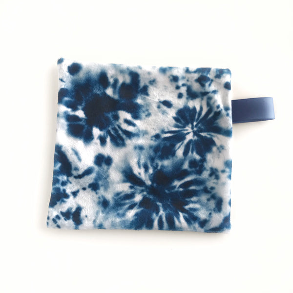 Mini Lovey / Crinkle Lovey - Tie Dye Blue