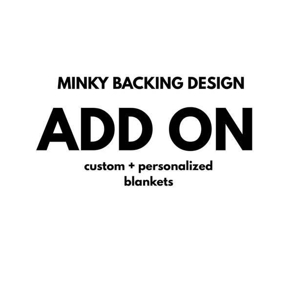 ADD A DESIGN TO MINKY BLANKET BACKING - Dotboxed