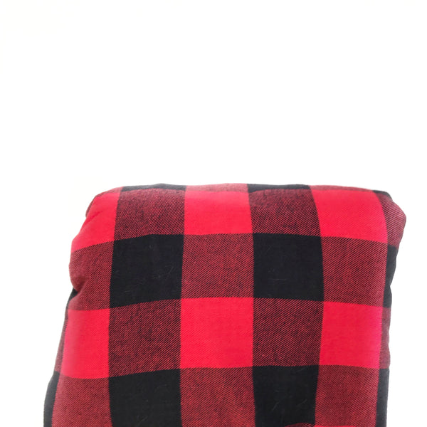 Plaid Blanket RED AND BLACK BUFFALO CHECK - Dotboxed