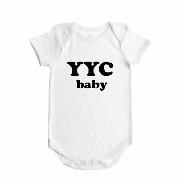 CITY BABY BOLD-  BODYSUIT - Dotboxed