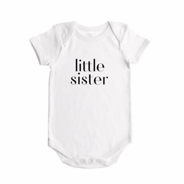 Sibling Bodysuit LITTLE SISTER - Dotboxed