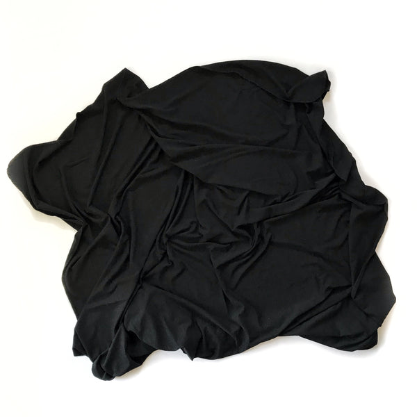 Stretchy Swaddle Blanket in Black - Dotboxed