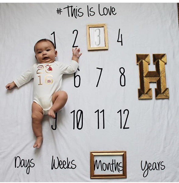 ANNIVERSARY BLANKET - THIS IS LOVE - Dotboxed