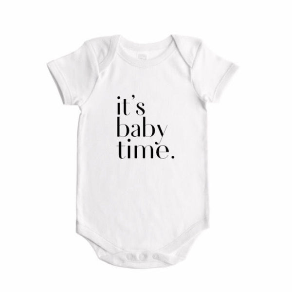 IT'S BABY TIME Bodysuit - Dotboxed