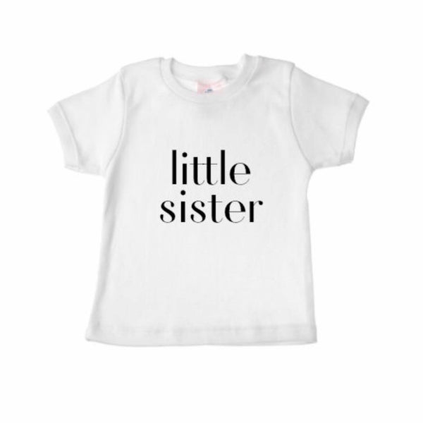 Sibling Shirts LITTLE SISTER - Wholesale - Dotboxed