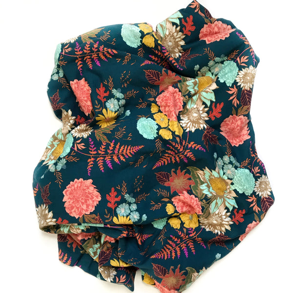 Floral Blanket DEEP AUTUMN - Wholesale - Dotboxed