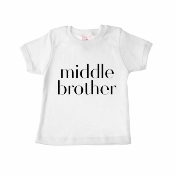 Sibling Shirts MIDDLE BROTHER - Wholesale - Dotboxed