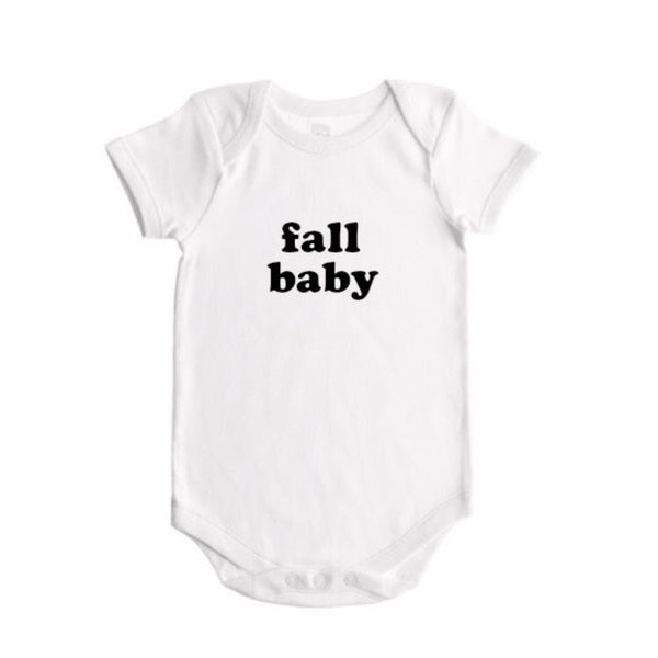spring / summer / fall / winter  baby seasons announcement BODYSUIT - Wholesale - Dotboxed