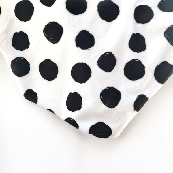 Dots Minky Blanket - Dotboxed