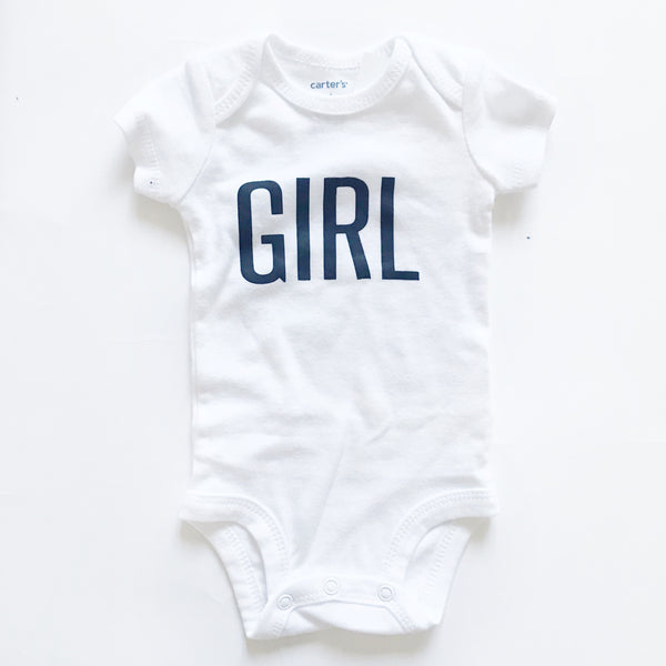 GIRL bodysuit sz NEWBORN - Dotboxed
