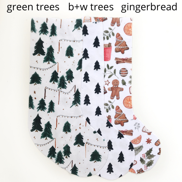 Personalized Stockings - Reversible