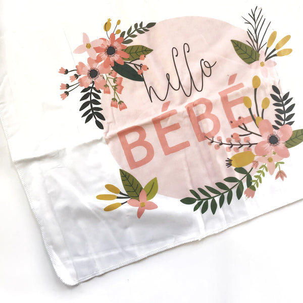 Hello Bébé  XL lovey blanket - Dotboxed
