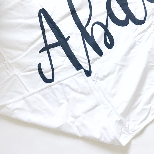 ABDULLA Personalizer Name Blanket - Dotboxed