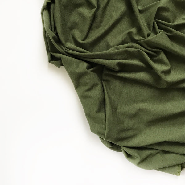 Stretchy Swaddle Blanket in Moss Green - Wholesale - Dotboxed
