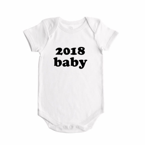 Baby Bodysuit - 2018 baby in bold - Dotboxed