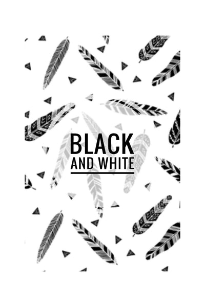 Black and White Prints 2 - CUSTOM BLANKET - Dotboxed
