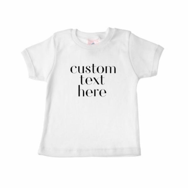 Custom Shirt CHILD/YOUTH - Dotboxed