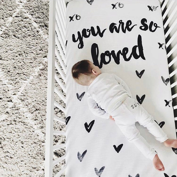 CRIB SHEET - YOU ARE SO LOVED - Dotboxed