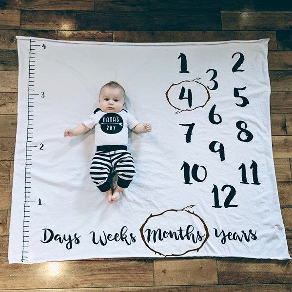 ANNIVERSARY BLANKET - AGE + GROWTH - Dotboxed