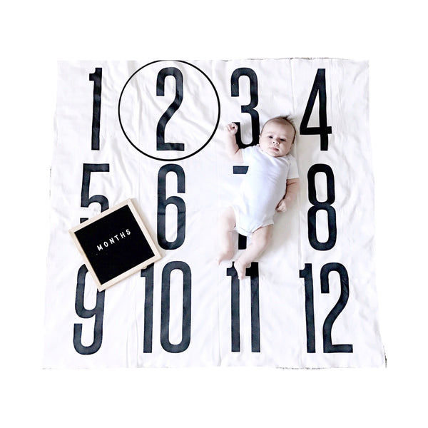 Copy of ANNIVERSARY BLANKET - BIG + BOLD NUMBERS - Dotboxed