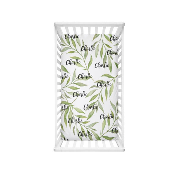 Greenery Name - Personalized Name Bedding - Dotboxed