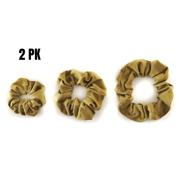 Scrunchies - 2 PK RANDOM SELECTION SM, REG, BUN - Dotboxed