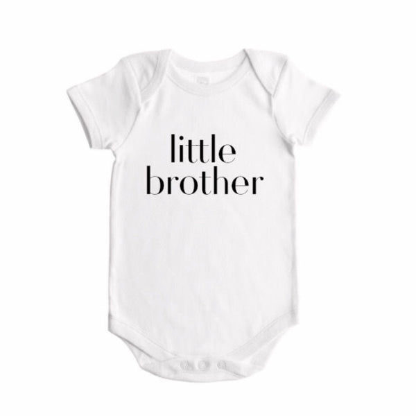 Sibling Bodysuit LITTLE BROTHER - Dotboxed