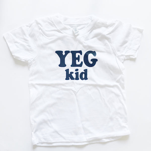 Yeg Kid shirt sz 4 - Dotboxed