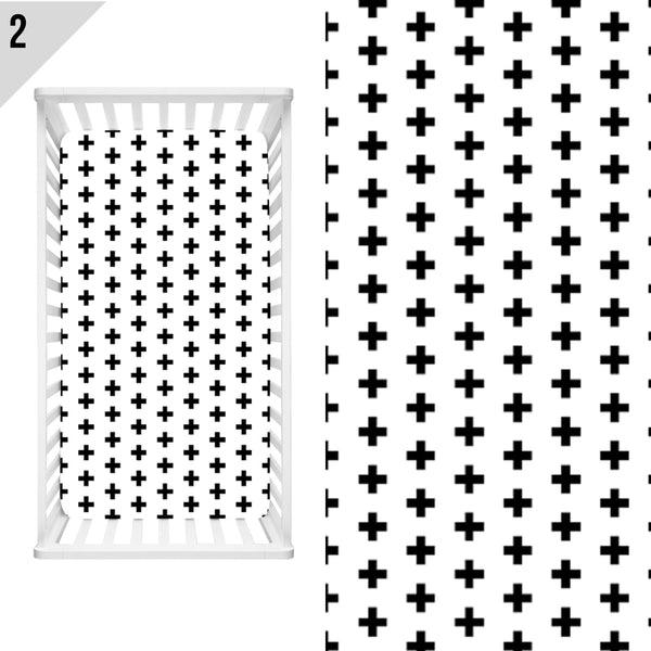 Basics / Stripes / Dots / Cross / Shapes Bedding - Dotboxed