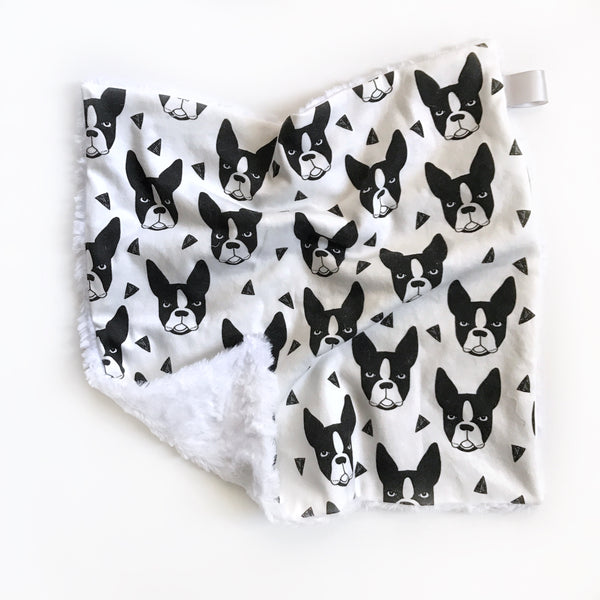 LOVEY BLANKET - BOSTON TERRIER - Wholesale - Dotboxed