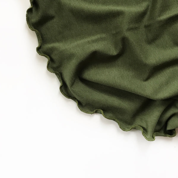 Stretchy Swaddle Blanket in Moss Green - Dotboxed