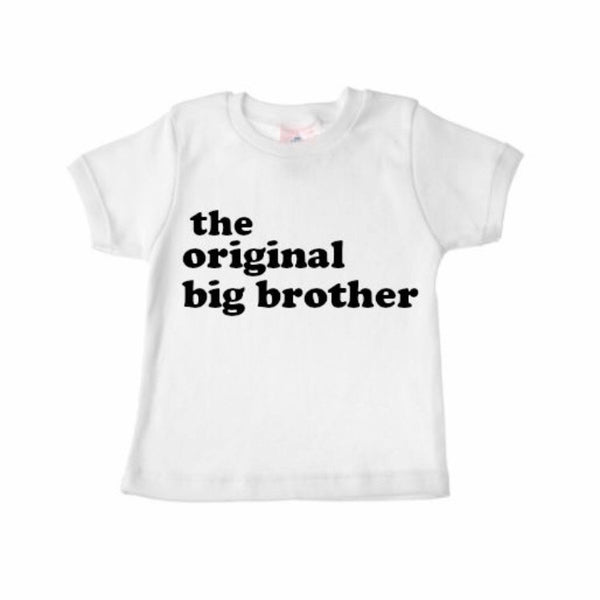Sibling Shirts THE ORIGINAL BIG BROTHER - Wholesale - Dotboxed