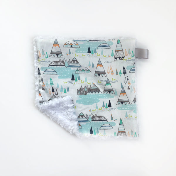 LOVEY BLANKET - TEEPEE MINT - Dotboxed