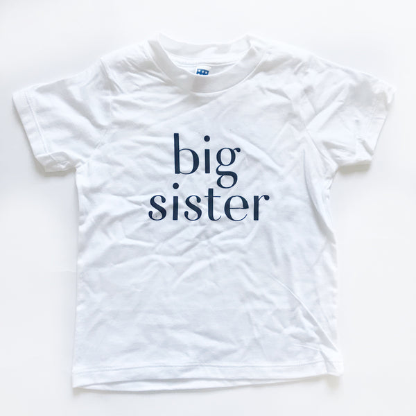 Big Sister Shirt sz 4 - Dotboxed