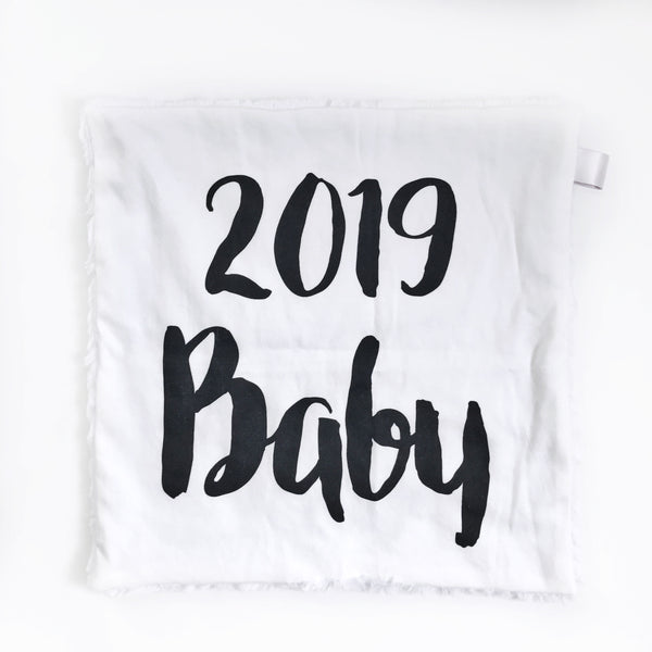 LOVEY BLANKET - 2019 BABY - Dotboxed