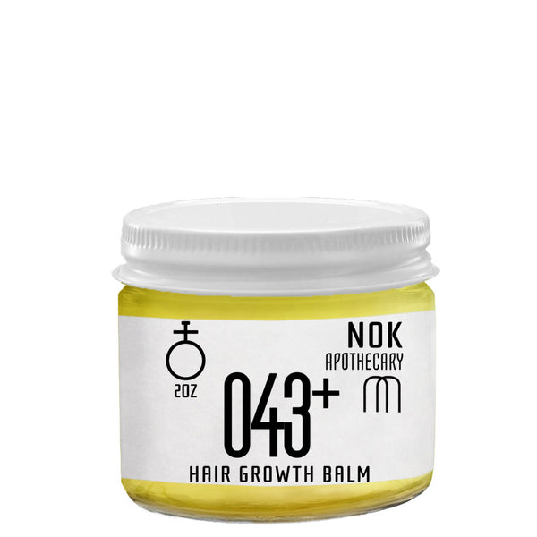 Coconut Oil Hair Balm - The Nok Apothecary