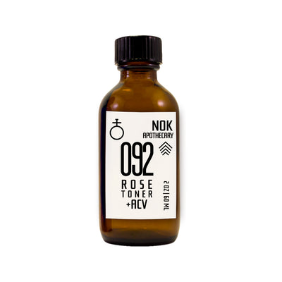 Organic Rose Water + Apple Cider Vinegar Toner | 092 - Dry Skin - The Nok Apothecary
