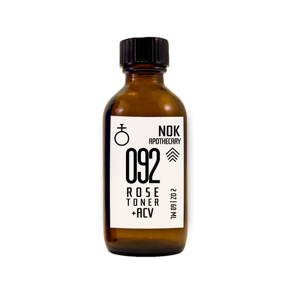 Organic Rose Water + Apple Cider Vinegar Toner | 092 - The Nok Apothecary