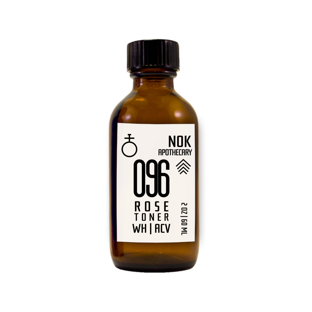 096 Apple Cider Vinegar + Witch Hazel Toner | Acne Prone Skin - The Nok Apothecary