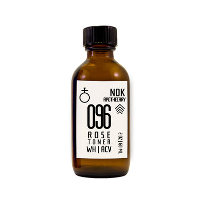 Organic Rose Water + Apple Cider Vinegar + Witch Hazel Toner | 096 - The Nok Apothecary