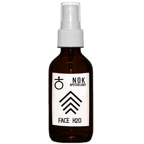 FACE H20 | Aloe + Rosewater Toner - Normal + Balanced Skin - The Nok Apothecary