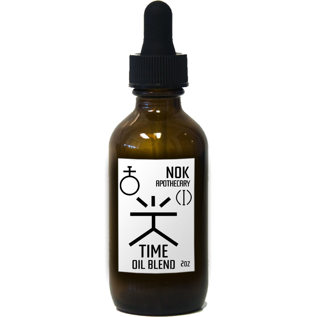 Time Body Oil | Glow - The Nok Apothecary