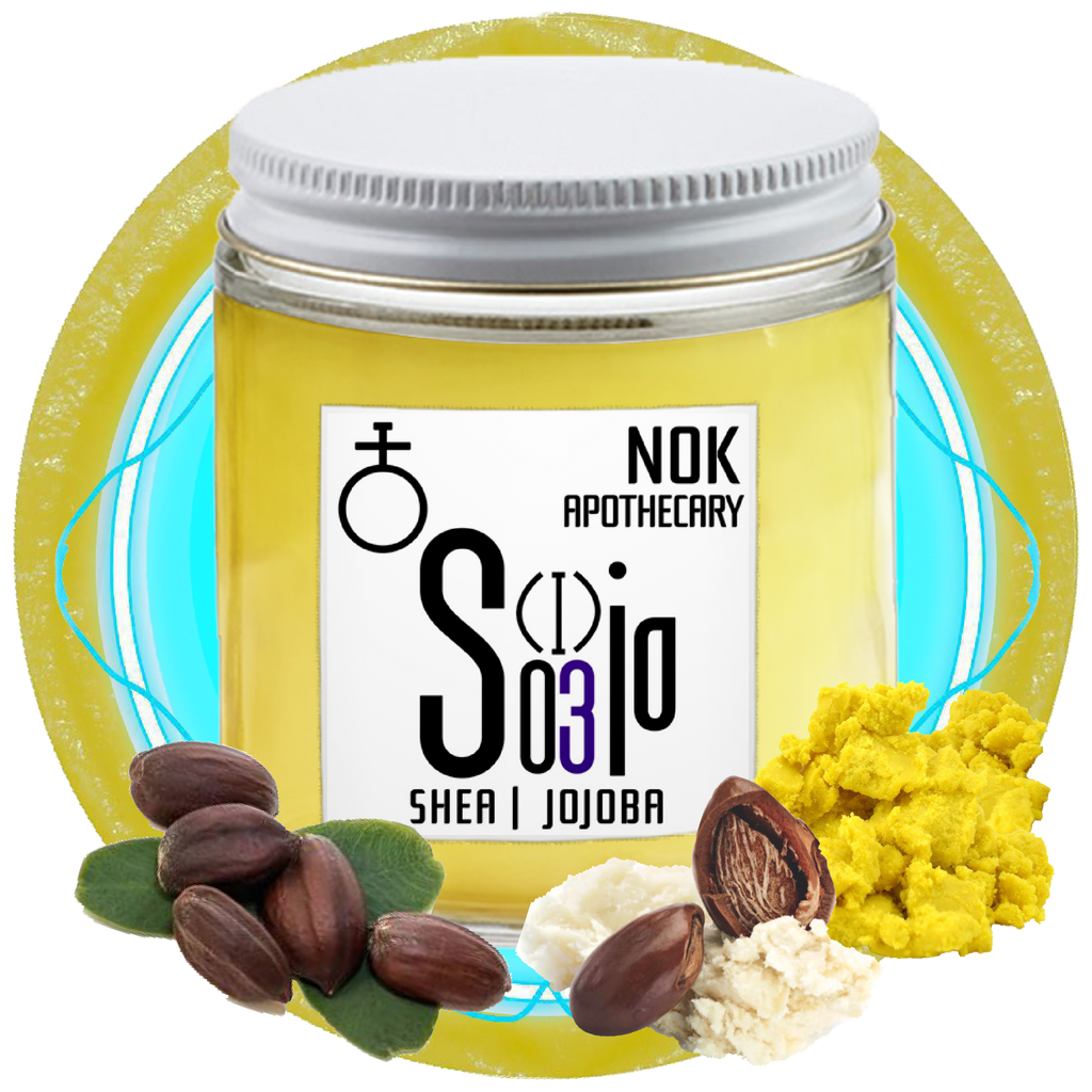 Whipped Shea + Jojoba Butter | Sjo - The Nok Apothecary