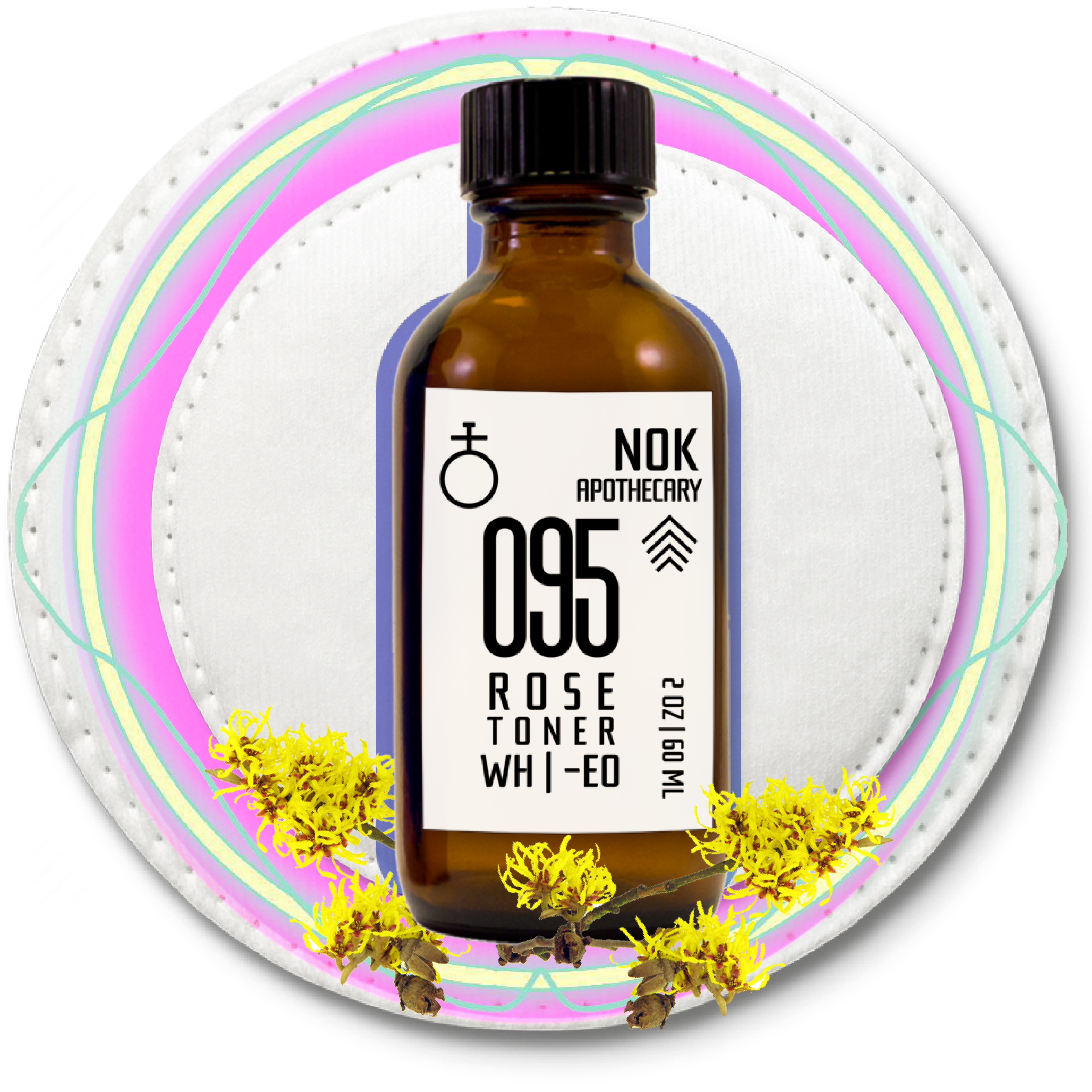 095 Witch Hazel Toner | Sensitive Skin - The Nok Apothecary