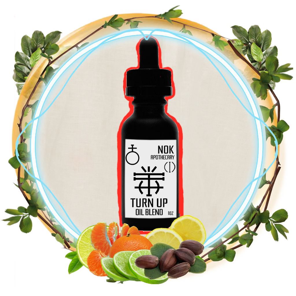 Citrus Jojoba Oil | Turn Up - The Nok Apothecary