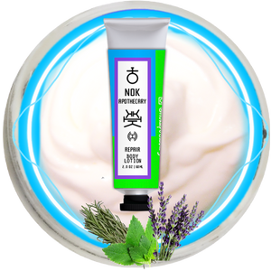 Lavender, Rosemary, Mint Hand + Body Lotion | Repair - The Nok Apothecary