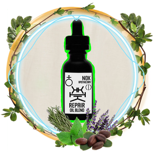 Lavender, Rosemary, Mint Jojoba Oil | Repair - The Nok Apothecary