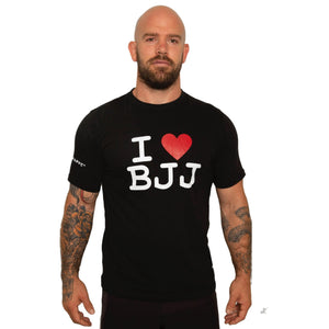 Grappz Limited Edition I LOVE BJJ 100% Cotton T-Shirts