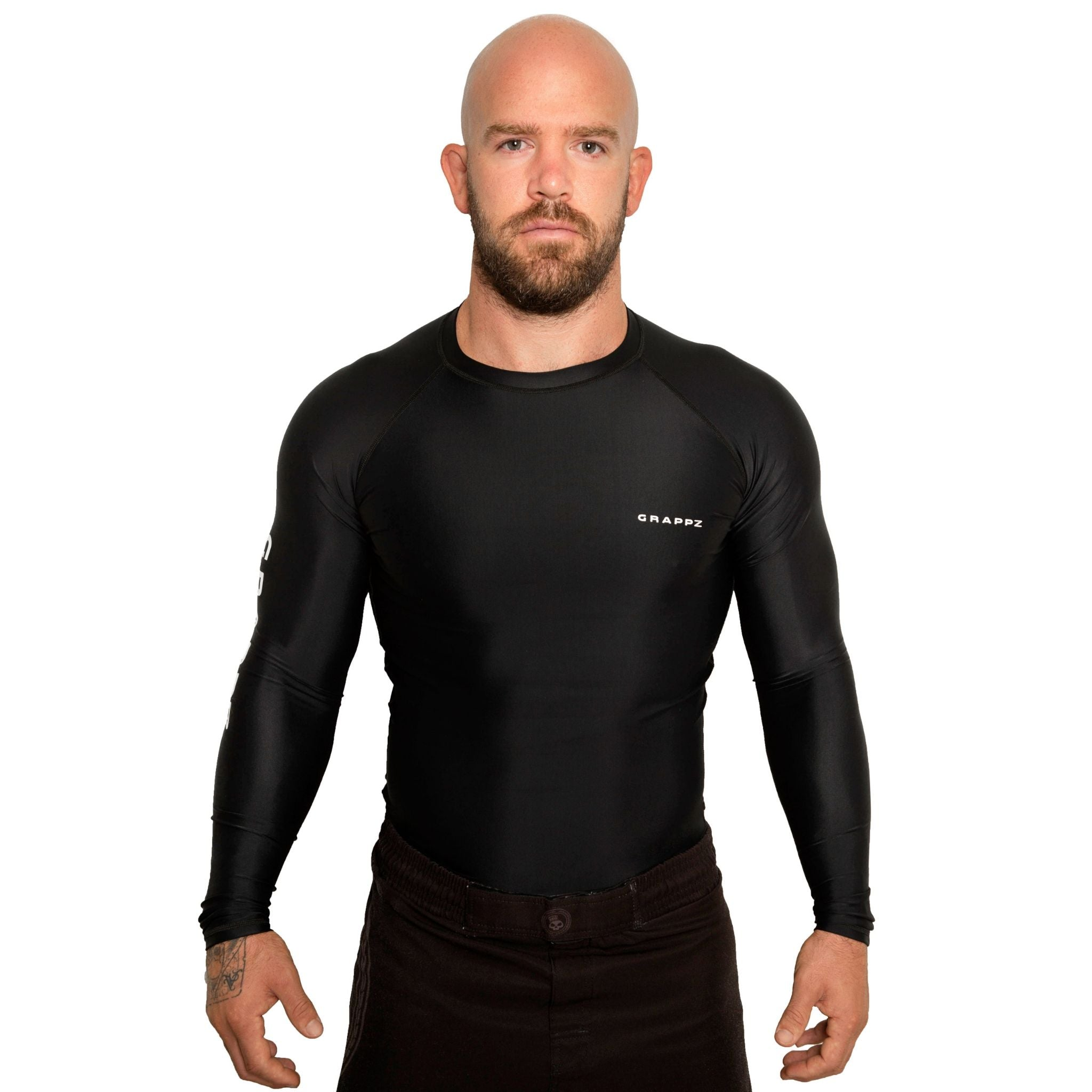 Grappz Long sleeve Rashguard - Athletic Shirt - Base layer